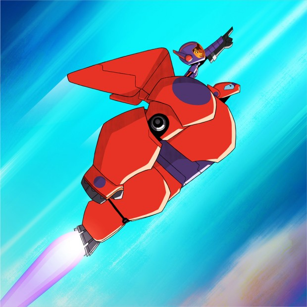 Big Hero 6 The Series (Image credit: Disney XD)