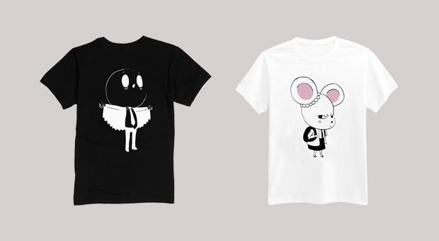 Birdboy t-shirts