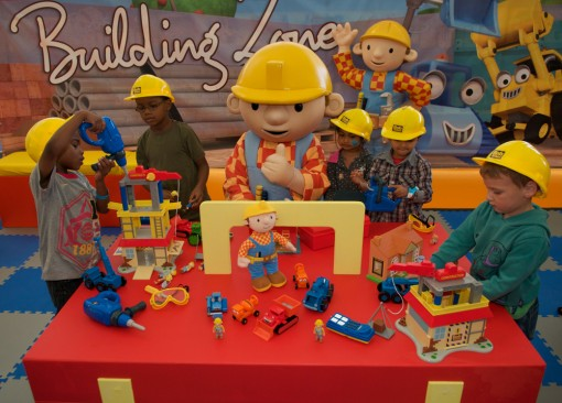 Bob the Builder and character toys