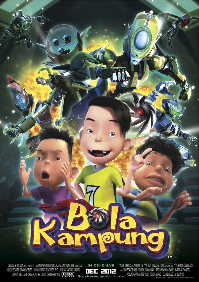 Animasia Brings 'Bola Kampung' Movie to Filmart