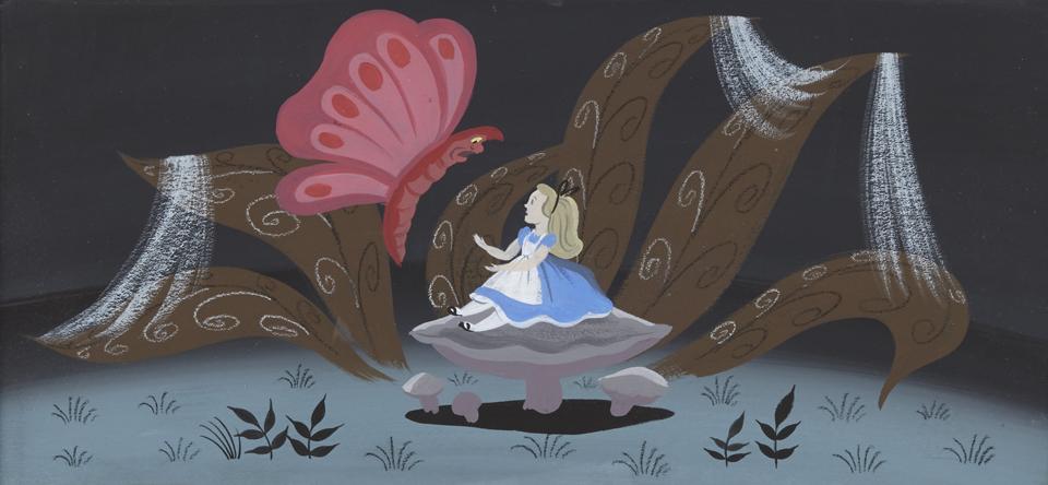 Bonhams Offers Rare Disney Animation Art Alice In Wonderland Rabbit Drawings