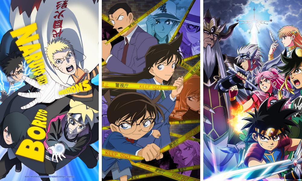 Boruto: Naruto Next Generations   Case Closed   Dragon Quest: The Adventure of Dai