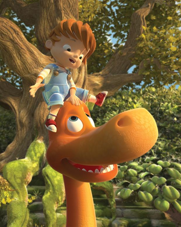 Boy and the Dinosaur