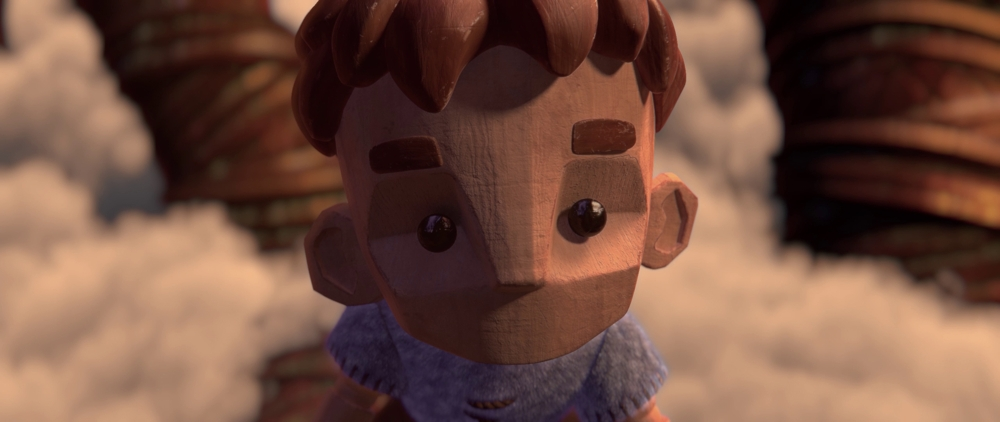 Boy in the Woods. Photo credit: Hype Animation Studios