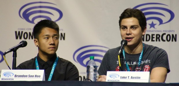 Brandon Soo Hoo and Jake T Austin