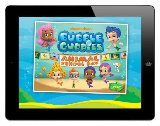 Bubble Guppies: Animal School Day app