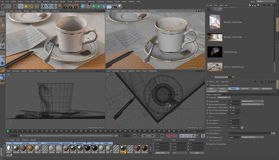 SIGGRAPH: MAXON Unveils Cinema 4D Release 19