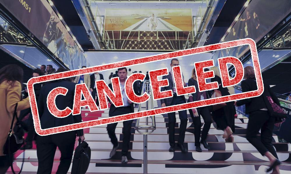 Coronavirus canceled events