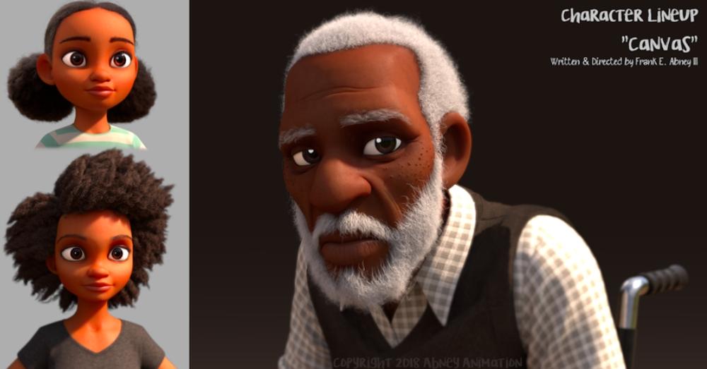 Canvas character models