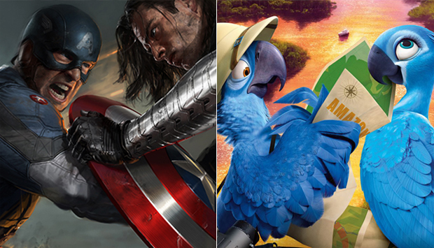 Captain America: The Winter Soldier / Rio 2