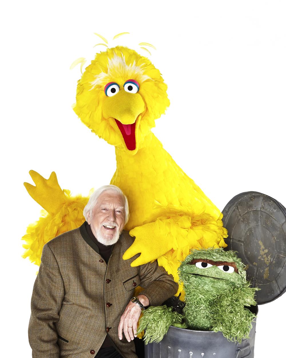 Caroll Spinney, Big-Bird, and Oscar