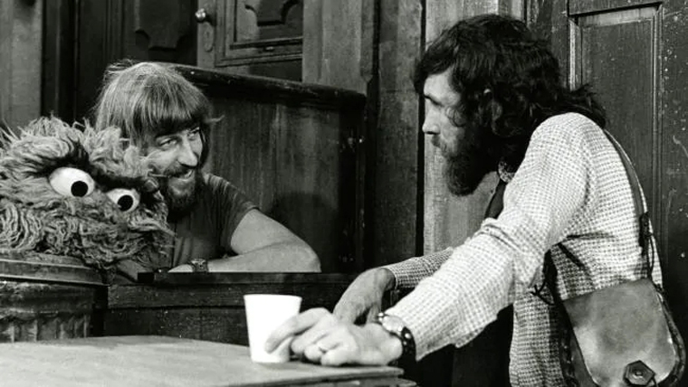 Caroll Spinney and Jim Henson
