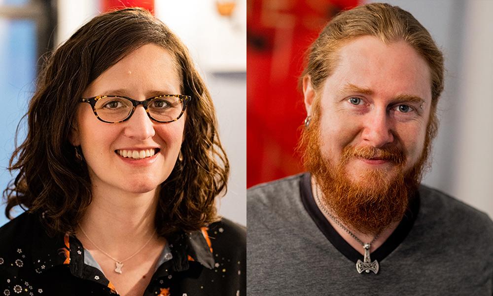 Carrie Miller and Jeremy Rosen