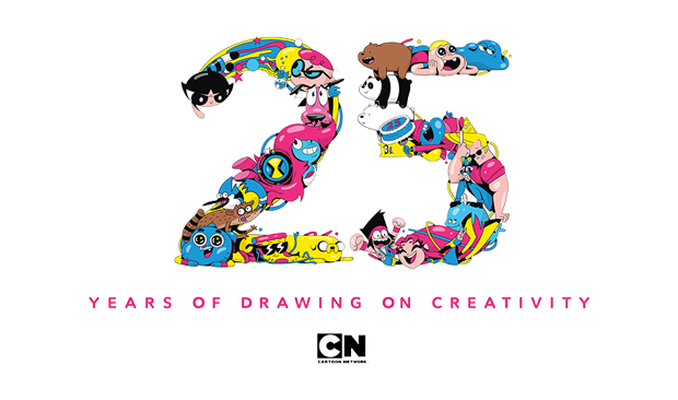Cartoon Network: 25 Years of Drawing on Creativity