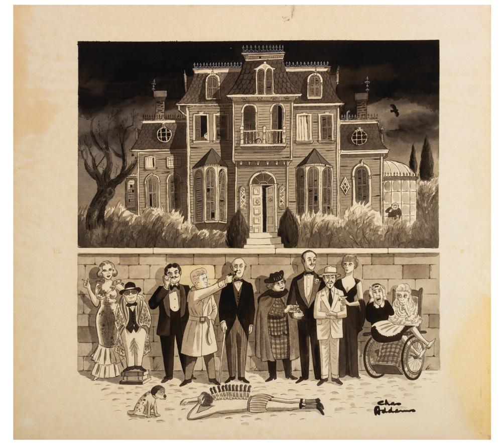 """""""Murder by Death"""" by Charles Addams"""