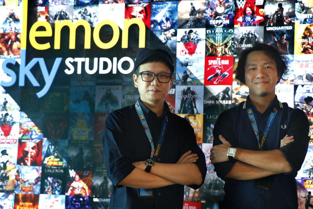 Cheng-Fei Wong, CEO (L) and Ken Foong, CCO, Lemon Sky Studio