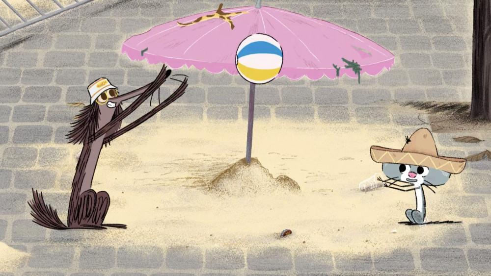 Stinky Dog, Happy Life in Paris! © 2020 Folivari/Dandelooo/Panique/Pikkukala/Shelterprod/Corporació Catalana de Mitjans Audiovisuals, SA/RTBF