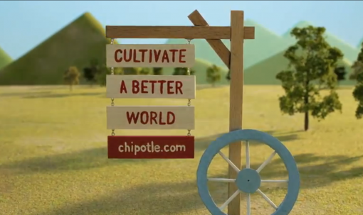 Johnny Kelly's CG-animated ad for Chipotle