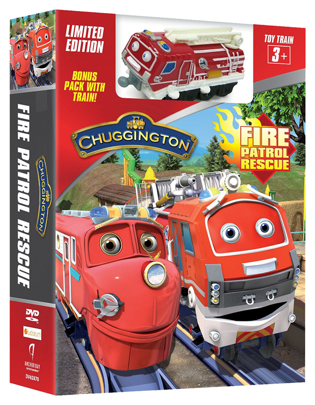 Chuggington: Fire Patrol Rescue - Limited Edition Bonus Pack with Train