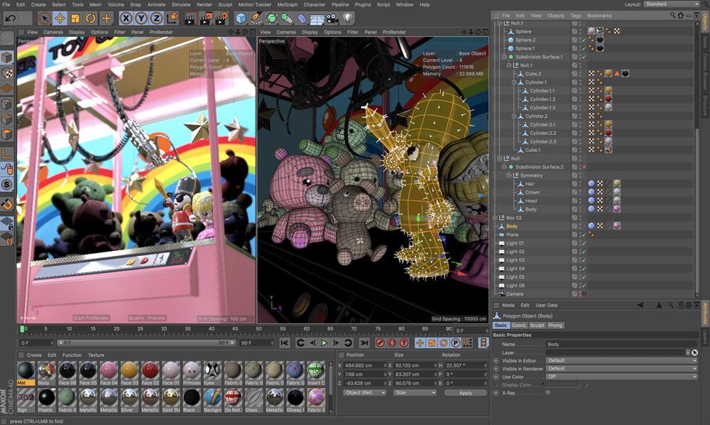 MAXON Cinema 4D Release 20