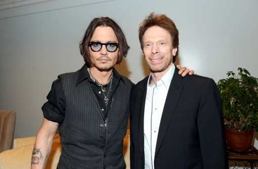 (L-R) Actor Johnny Depp and Producer Jerry Bruckheimer attends the Walt Disney Pictures 2012 Presentation Highlights at CinemaCon on April 24, 2012 in Las Vegas, Nevada. (Photo by Alberto E. Rodriguez/WireImage)