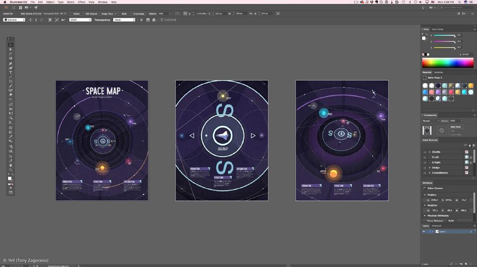 MAXON Releases Cineware Plugin for Illustrator
