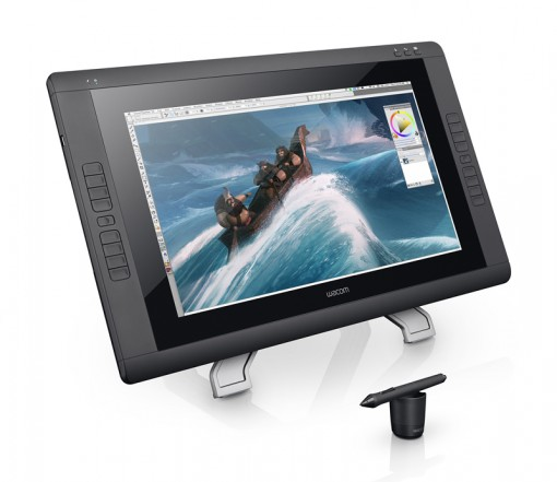 The Cintiq 22HD touch