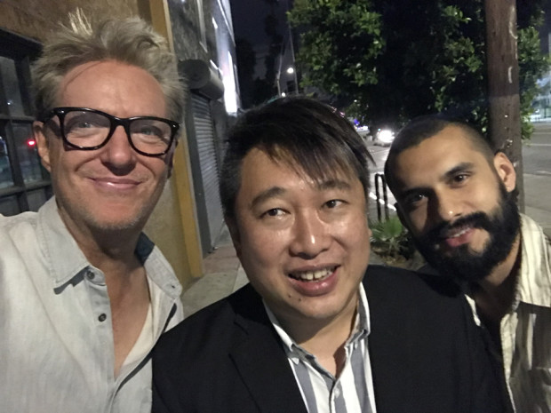 Dan Clark, David Kwok, and Oscar Covar