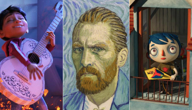Coco / Loving Vincent / My Life as a Zucchini
