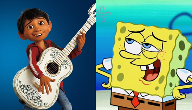 u0026 39 coco  u0026 39   u0026 39 spongebob u0026 39  take nickelodeon kids choice awards for animation