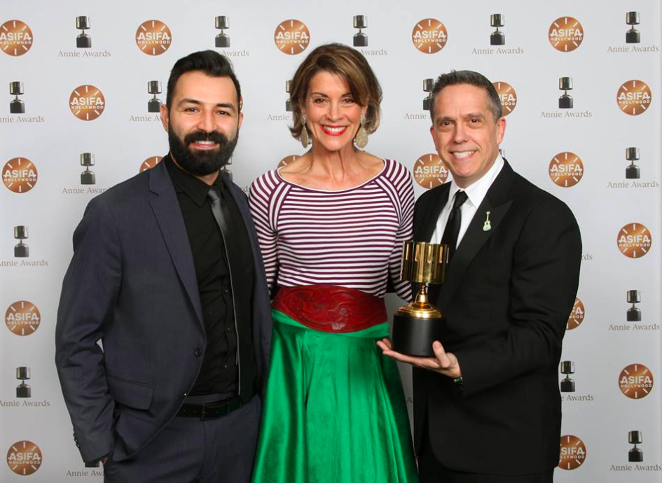 Coco directors and Wendy Malick