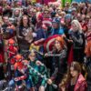 Social distancing was far from fans' minds at Comic-Con International 2019 [Photo: Rich Polk/Getty Images]
