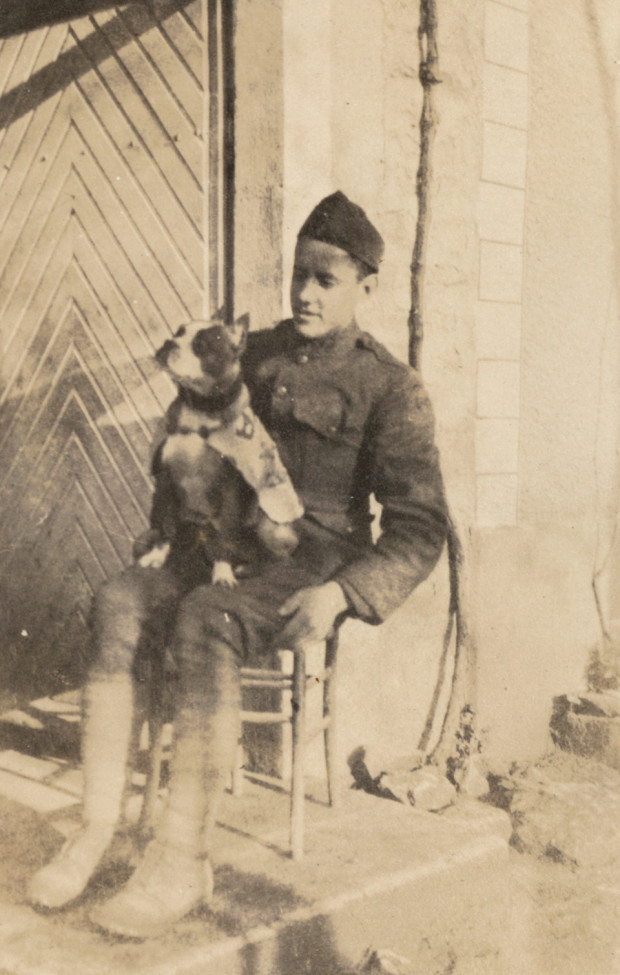 Conroy and Stubby (courtesy of the Connecticut State Library)