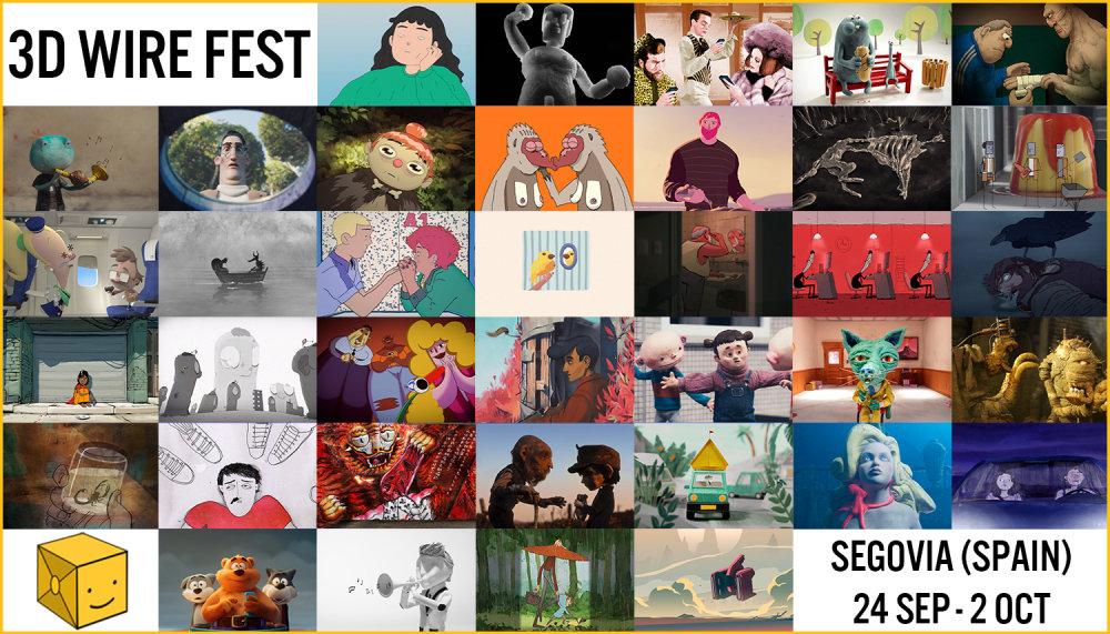 3D Wire Fest '21 short film selections