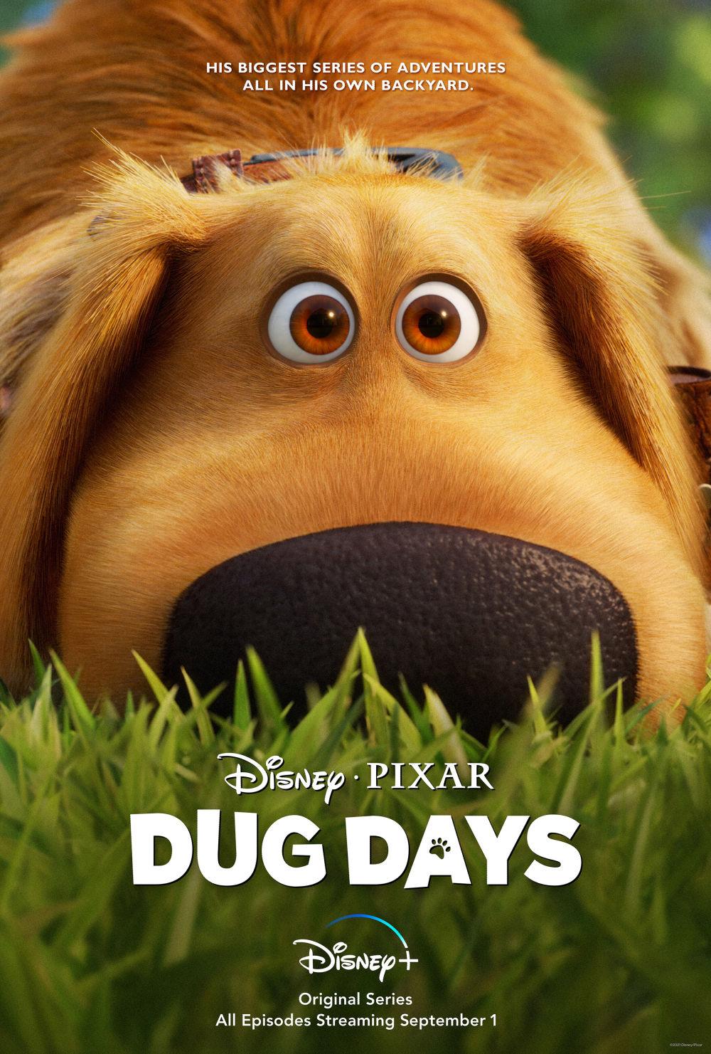 Dug Days premieres on Disney+ on Sept. 1