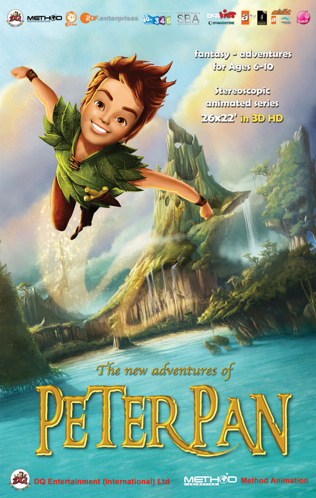 A classic tale gets a 21st century reboot - Image peter pan ...