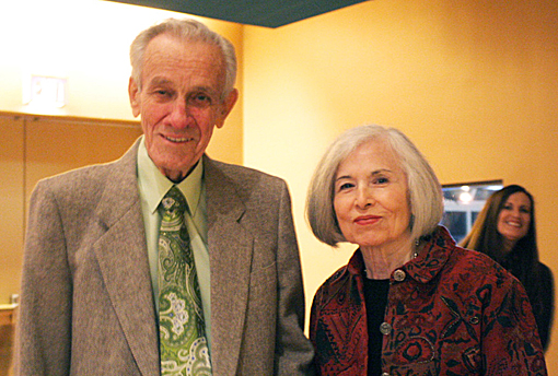 Dan Mills and Dora Yakutis