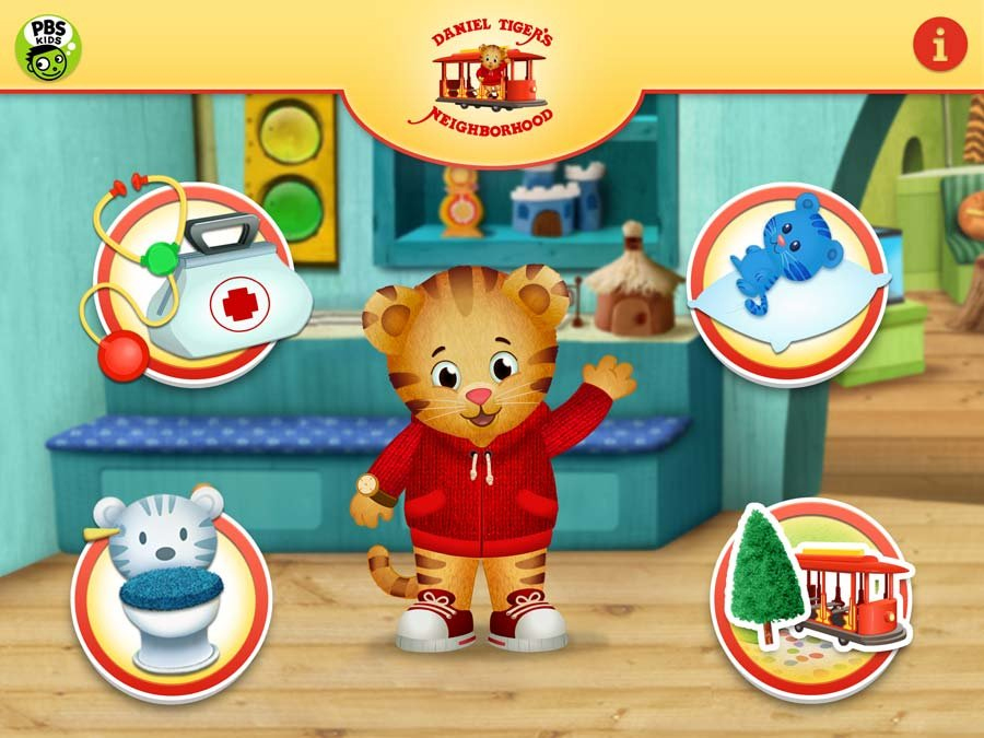Pbs Kids Offers New Daniel Tiger App