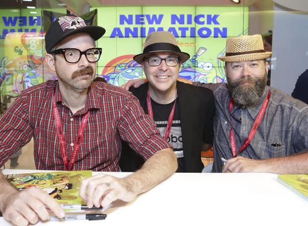 Johnny Ryan, David Sacks & Dave Cooper