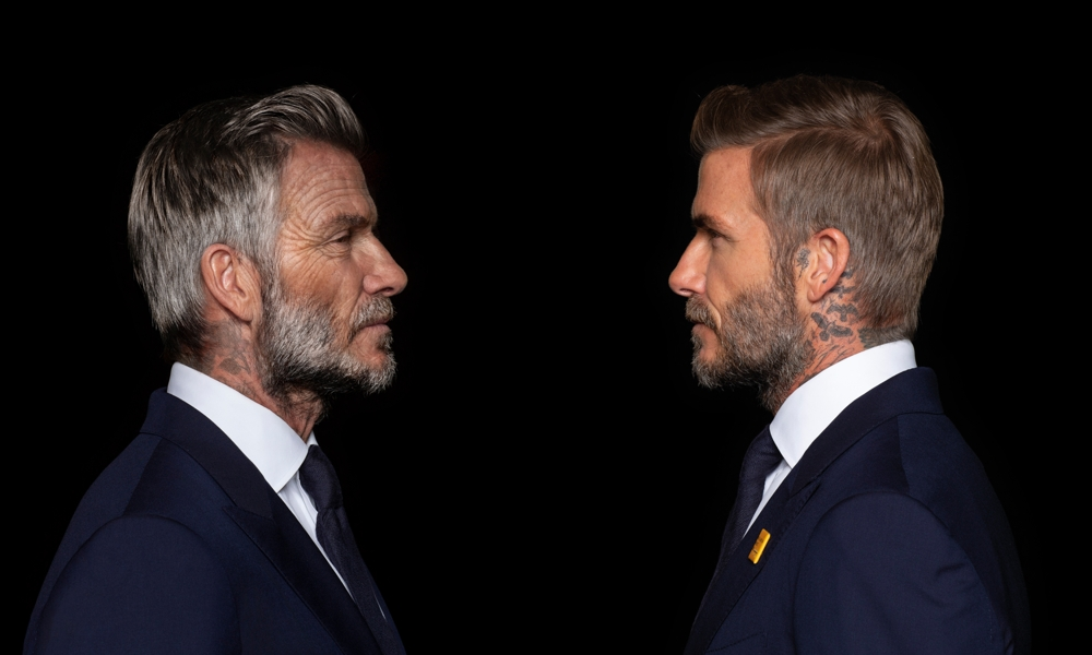 David Beckham side-by-side (courtesy Digital Domain)