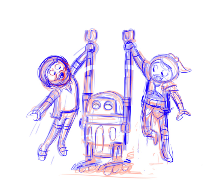 Del Robotitron, and Marla Knight
