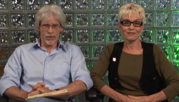 Dennys McCoy and Pamela Hickey