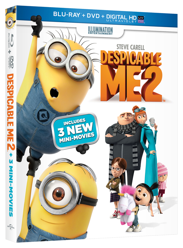 Despicable Me 2 Blu-ray/DVD