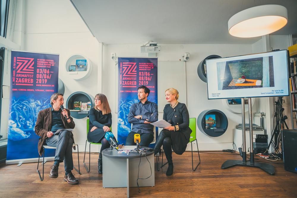 Dino Krpan, Matea Milic, Daniel Siljic, and Paola Orlic