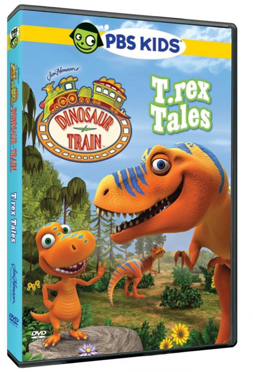 Dinosaur Train: T.rex Tales DVD