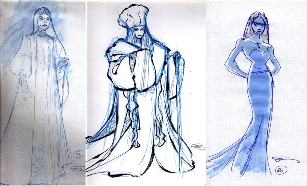 Disney's Frozen Concept Art