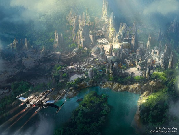 Disneyland's Star Wars-Themed Land