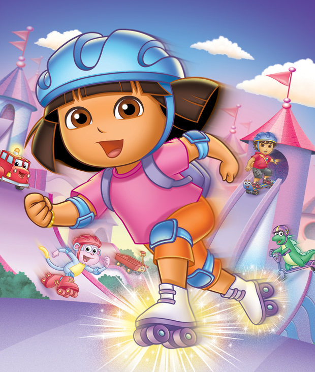 Dora's Great Roller Skate Adventure