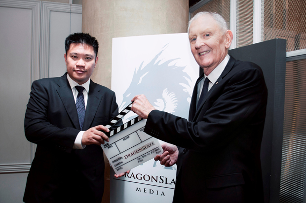 Leon Tan Executive Director of DragonSlate, Greg Coote Executive Director of DragonSlate