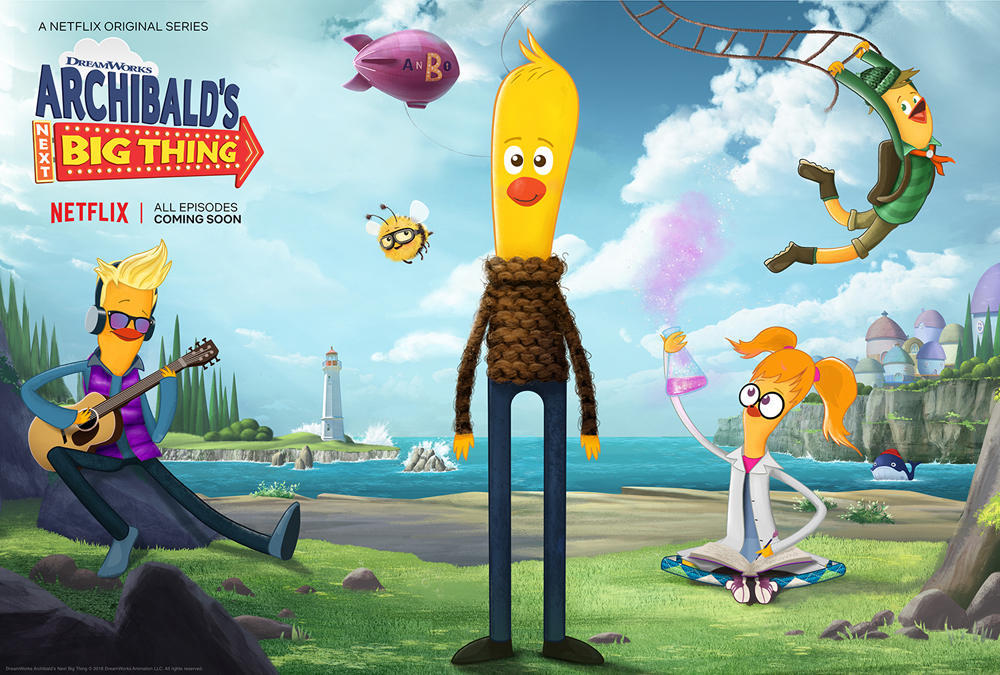 DreamWorks Archibald's Next Big Thing